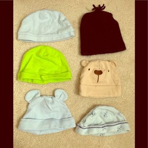 Baby Hat Bundle 3m and 0-3m